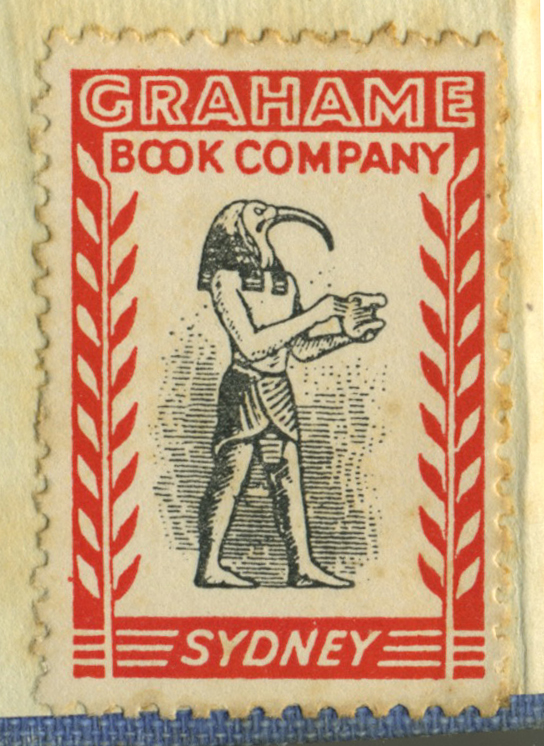 book shop stamp