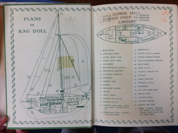 sailing endpapers