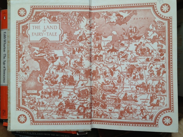 Grimm endpapers