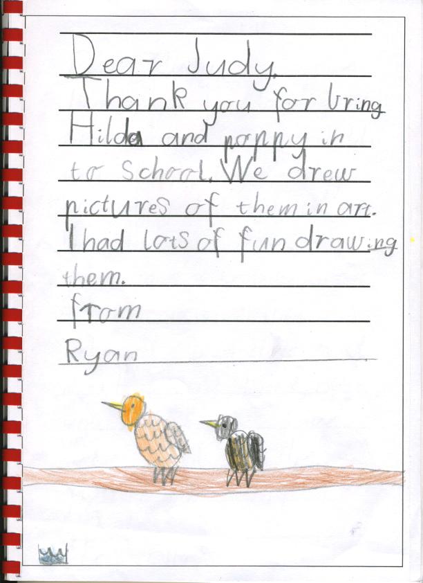 chicken thank you - Ryan