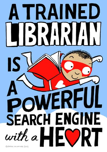 This poster was used for a mass lobby of parliament for school libraries in the UK.