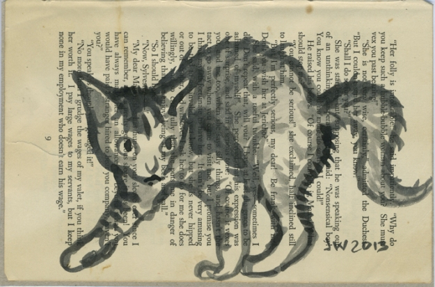 arching kitten