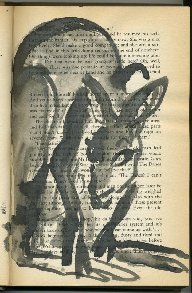 Greyfur study6 ink