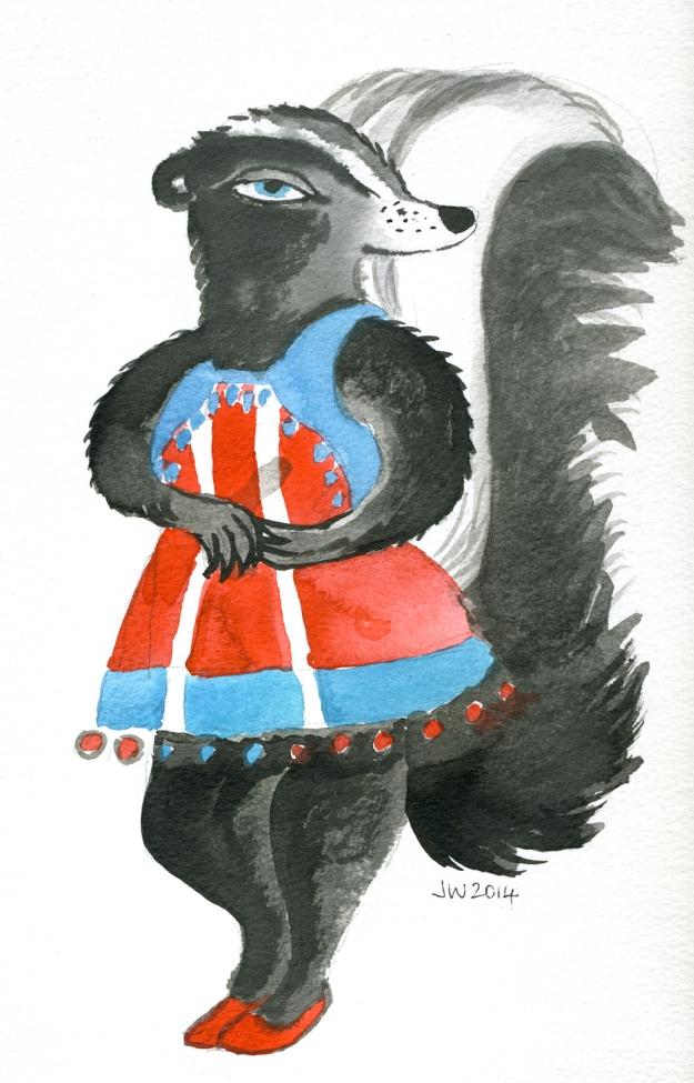Spunky Skunk