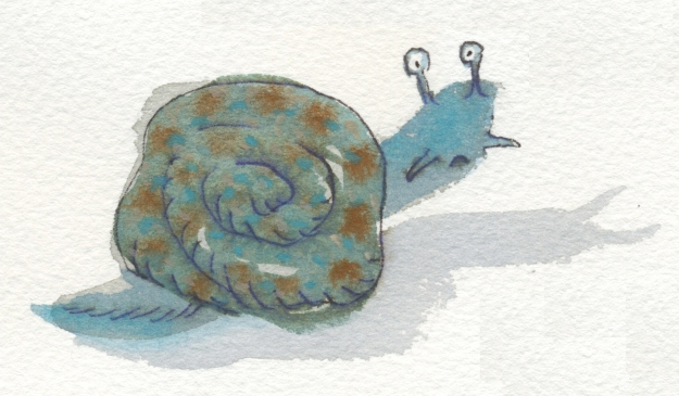 strange snail