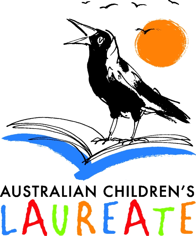 The Australian Children's Laureate logo in one of its formats