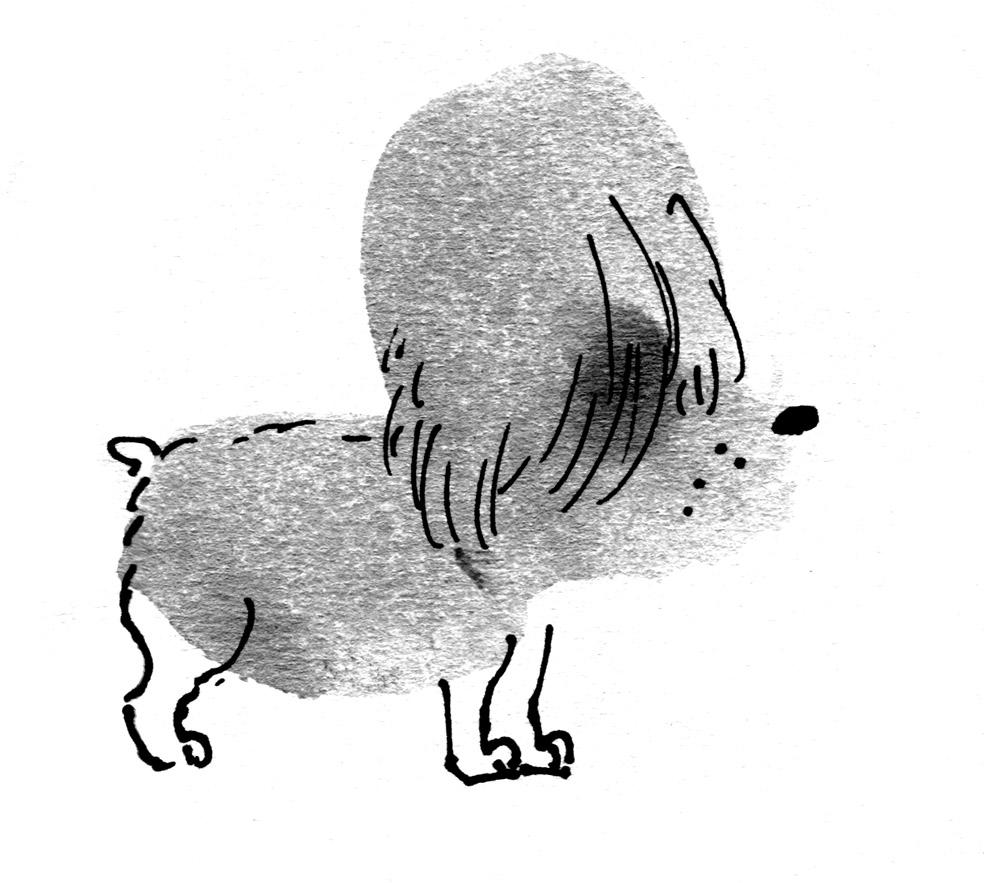beehive dog judywatsonart lores