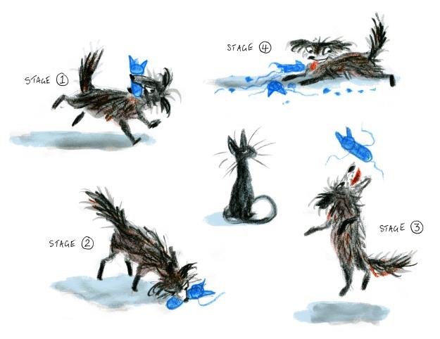 dog vs cat judywatsonart lores