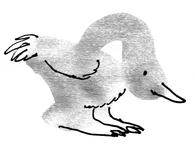 goosey bird judywatsonart lores