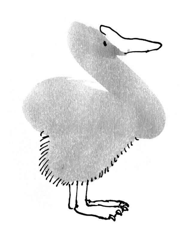 goosy dodo bird judywatsonart lores