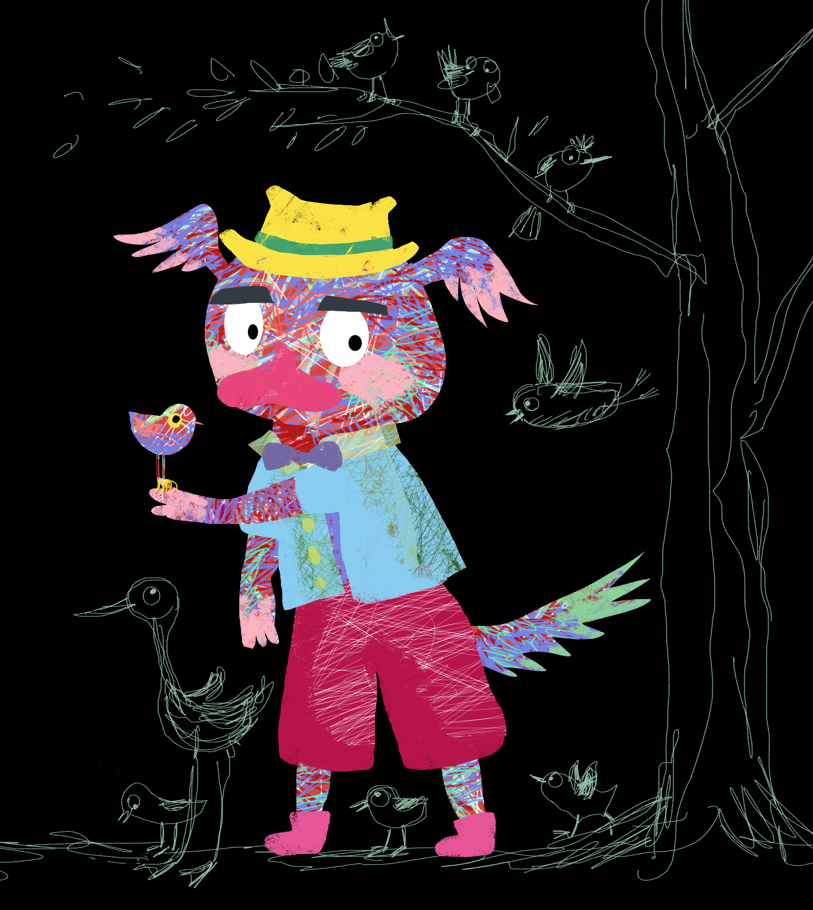 the bird lover judywatsonart lores