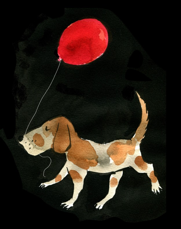 balloon dog judywatsonart lores