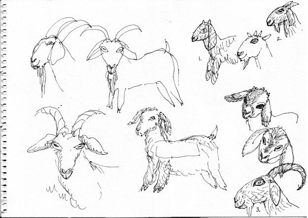 billy goats page judywatsonart lores