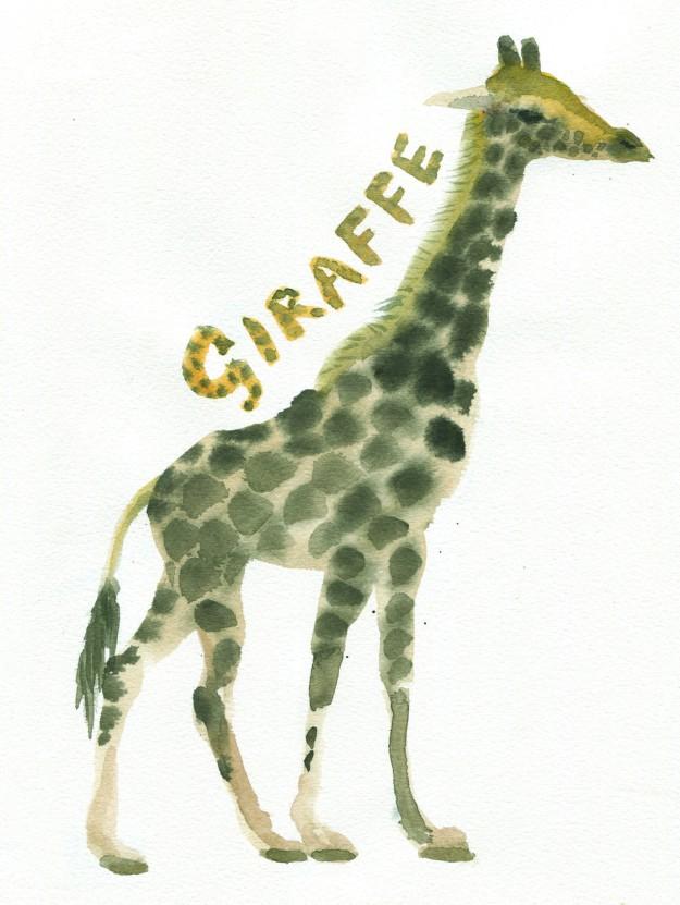 giraffe judywatsonart lores