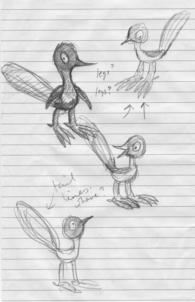 Leonard doodles judywatsonart lores