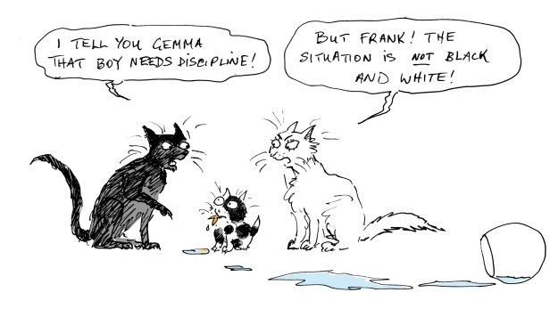 cat argument judywatsonart lores