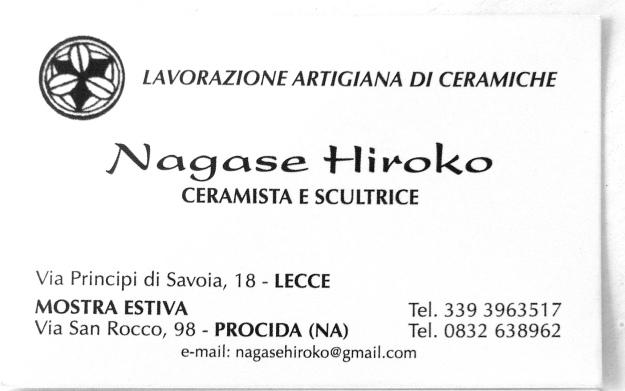 Nagase Hiroko ceramics- front