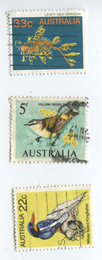 Add classic vintage Australian Stamps