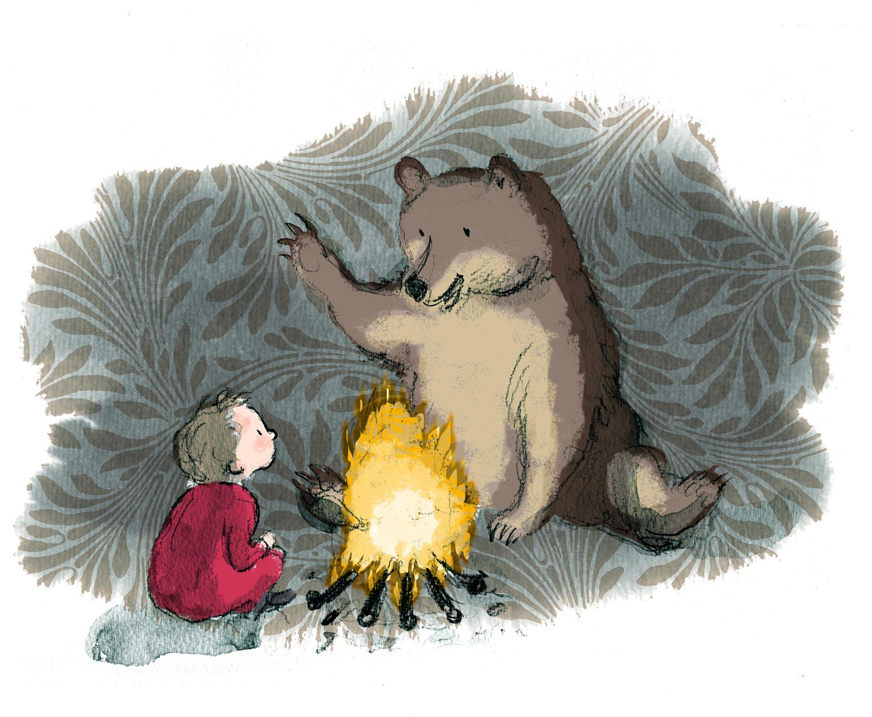 bear campfire temp