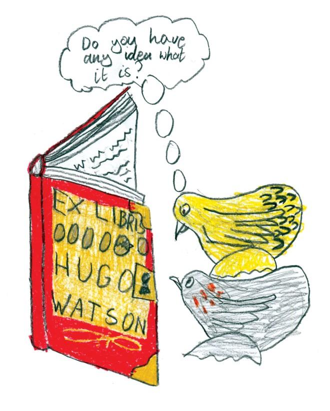 Bookplate Hugo Watson