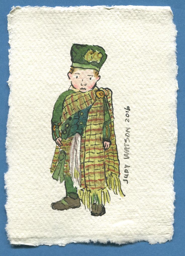 W1 fancy dress - scottish judywatsonart lores