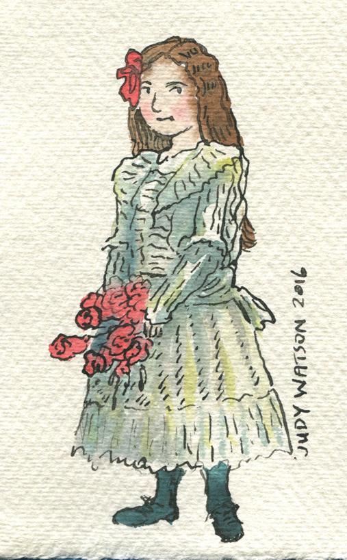 W1 fancy dress unwilling girl judywatsonart lores