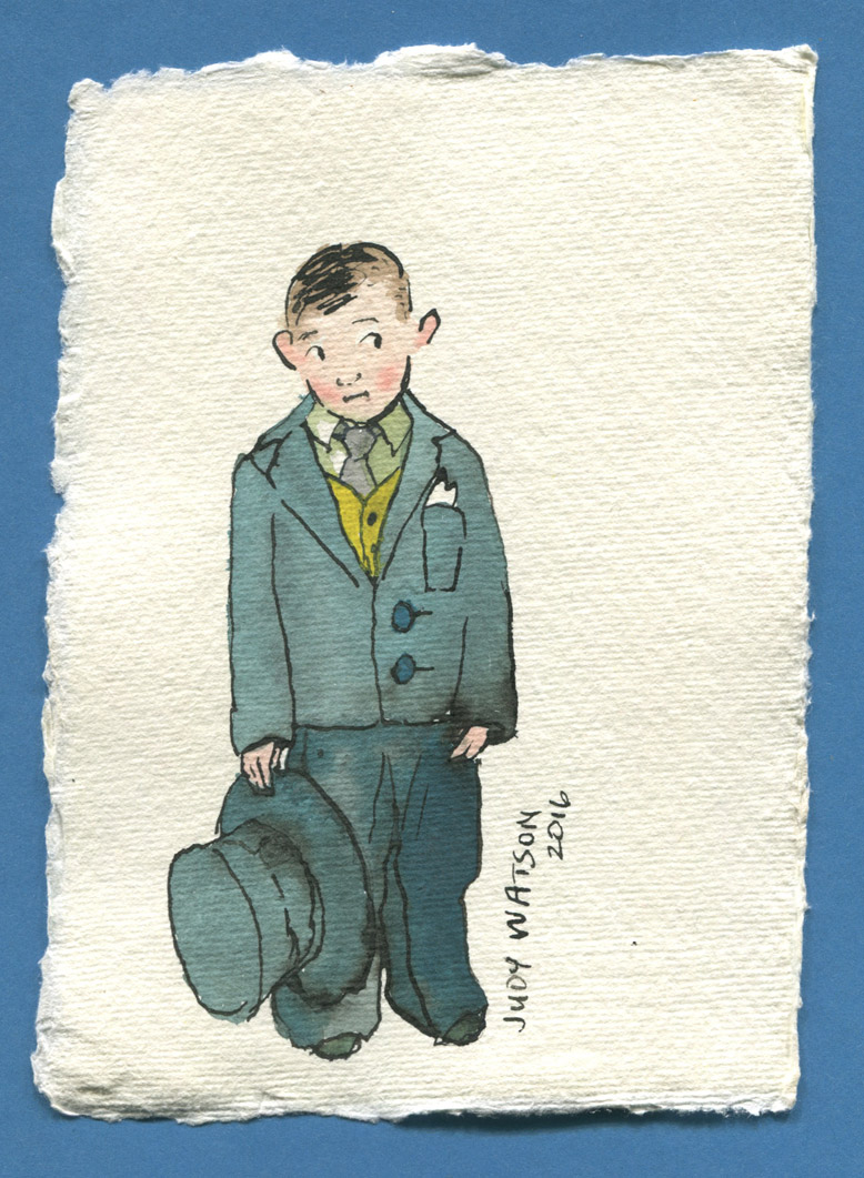 W1 fancy dress unwilling suit boy judywatsonart lores