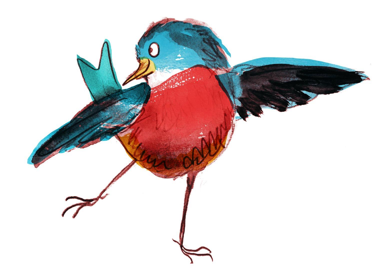 bluebird test judywatsonart