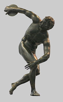 roman bronze reduction discus_thrower_Myron